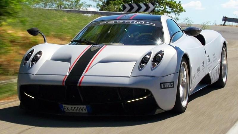Video: Motor Trend Reviews the 2014 Pagani Huayra