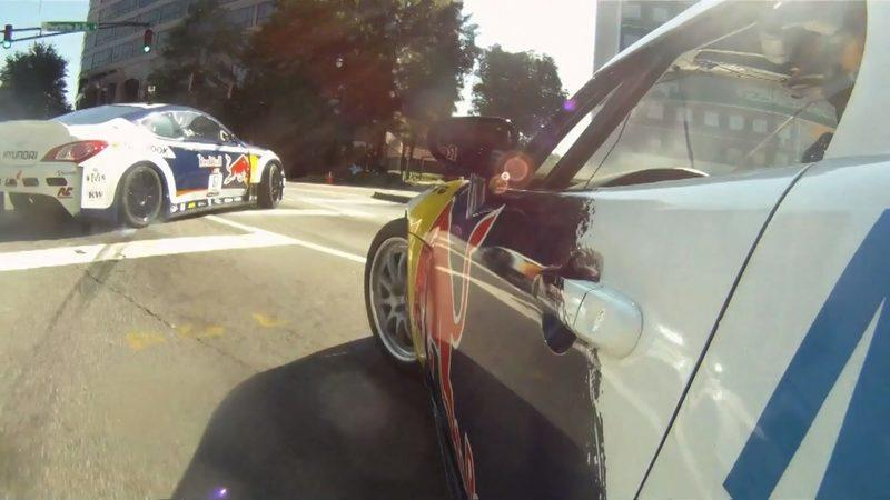 Video: Red Bull drifts through the streets of Hot-lanta