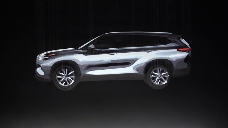 Here's Your First Teaser for the All-New 2020 Toyota Highlander