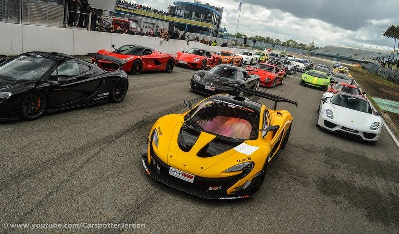 Supercar Gathering In The Netherlands Draws An Exotic Party: Video