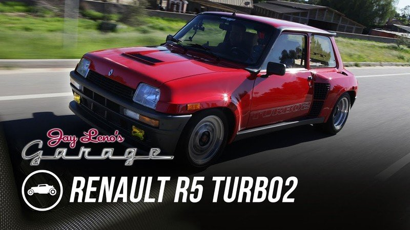 Jay Leno Goes Full Throttle in a 1985 Renault R5 Turbo2: Video