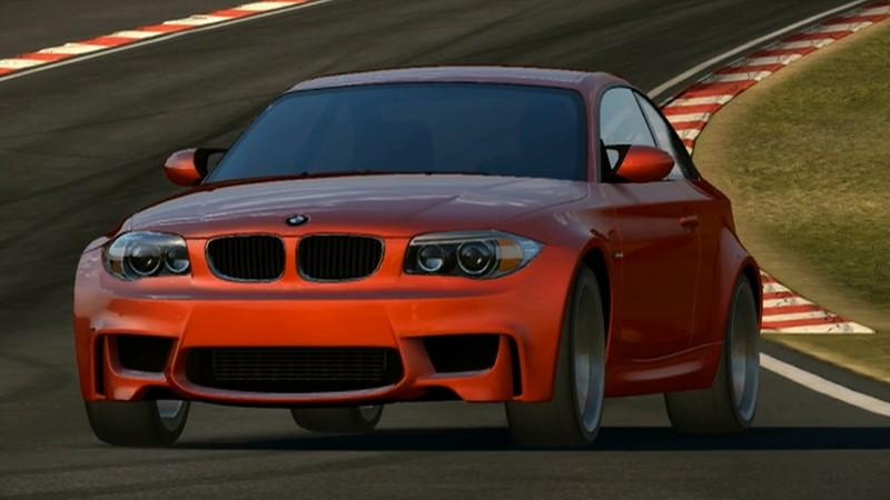 Test the BMW 1-Series M Coupe in the ACR racing game