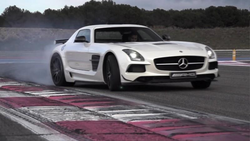 Video: Chris Harris Reviews the Mercedes SLS Black Series