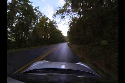A 2014 Porsche Cayman S and the Blue Ridge Parkway Equal Perfection