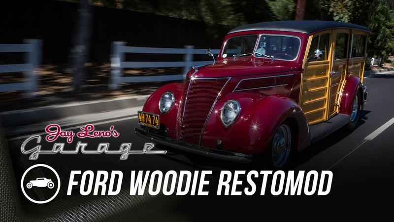 Jay Leno Drives a 1937 Ford Woodie: Video