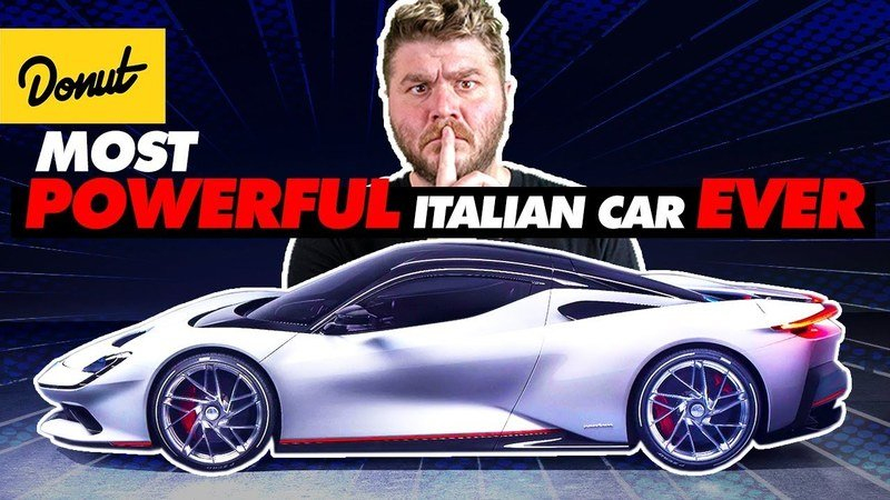 Video: Donut Media Takes a Big Bite Out of the Pininfarina Battista