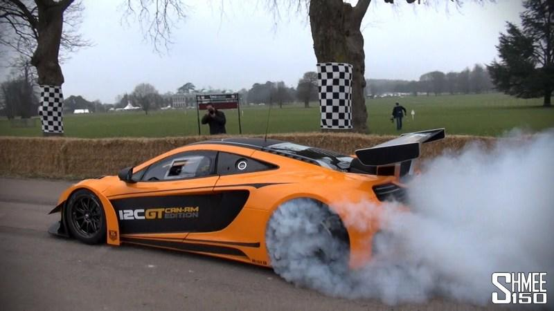 Video: McLaren MP4-12C GT Can-Am Edition Performs an Awesome Goodwood Preview