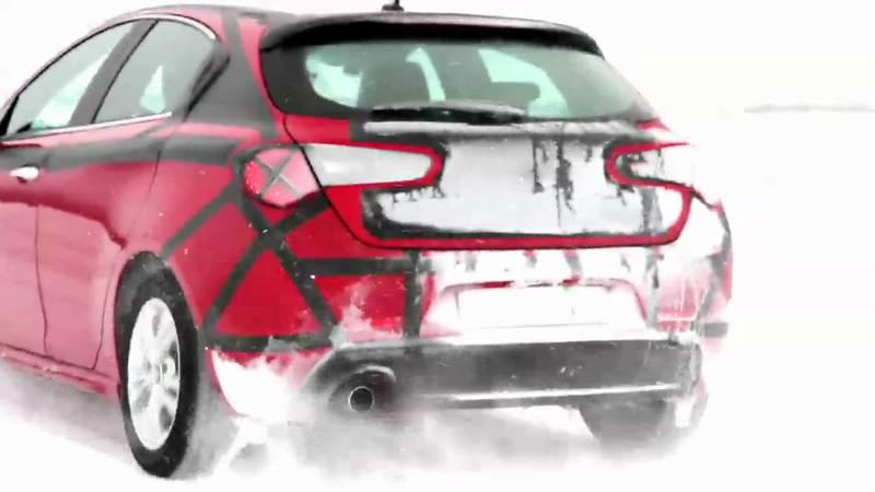 Video: Alfa Romeo Giulietta winter testing in Sweden