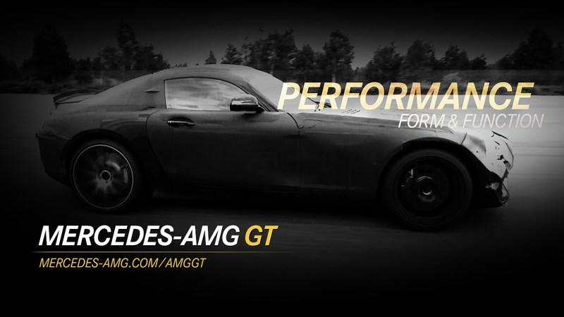 Video: Mercedes Drops New Teaser Video for the AMG GT
