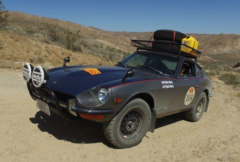The Smoking Tire Gets Acquainted With A Rally-Spec 1973 Datsun 240Z: Video