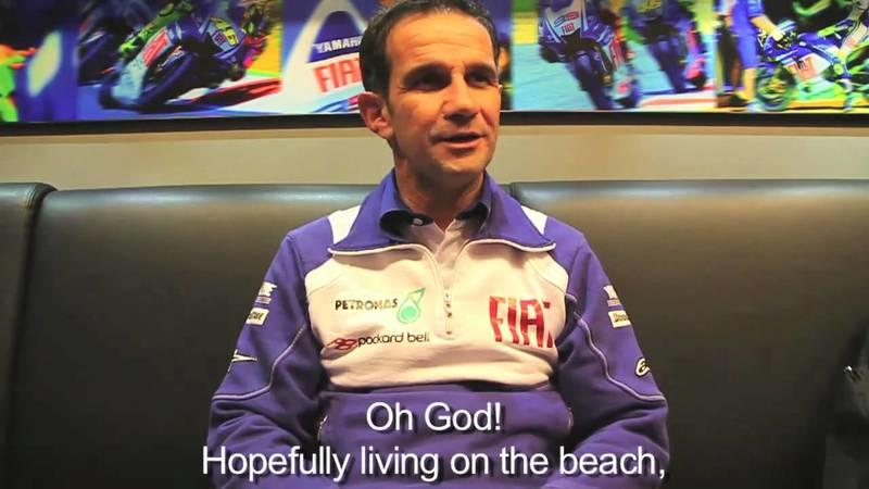 Fiat Yamaha Team riders & staff members exclusive end of season interviews!