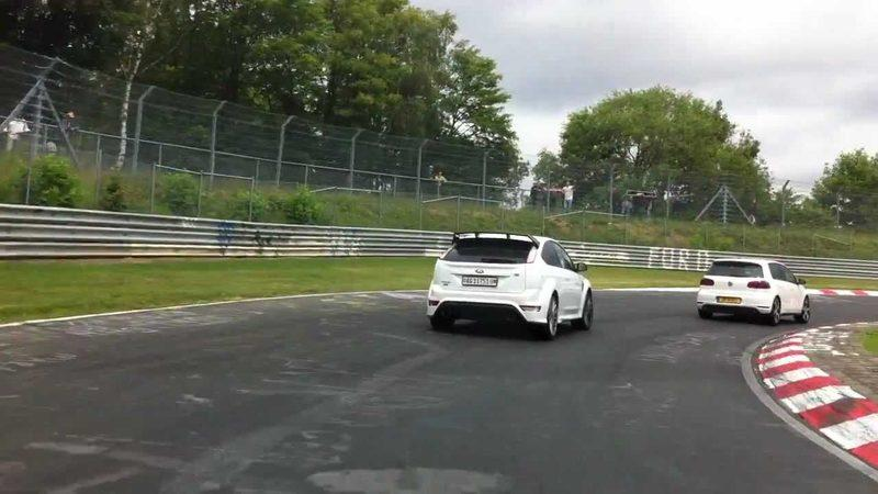 Video: Volkswagen Sirocco R vs. Ford Focus RS