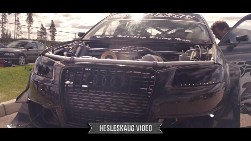 2012 Video: 1,000-Plus Horsepower Audi S3 Terrorizes a Norwegian Track