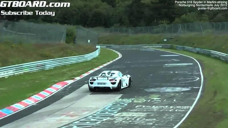 Video: Porsche 918 Spyder testing at the Nurburgring