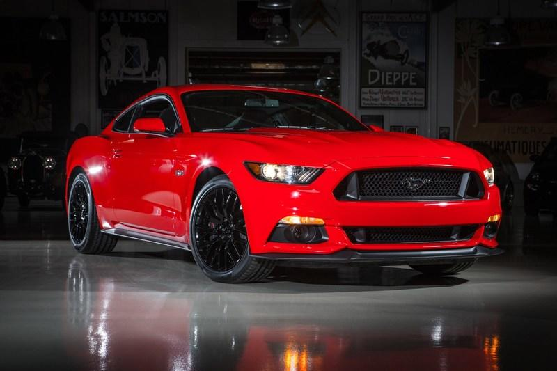 Video: Jay Leno checks out the new 2015 Ford Mustang GT