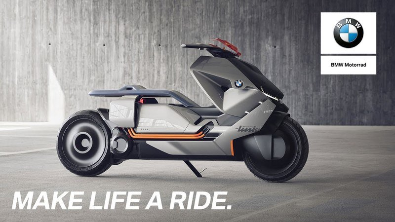 BMW Unveils Concept Link - Honda Hints at Electric Scooter for 2018