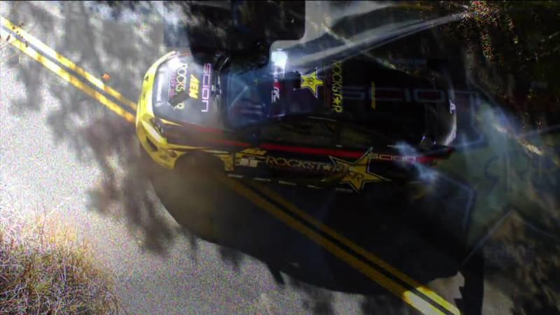 Video: Teaser of Tanner Foust's Mulholland Street Drift Series