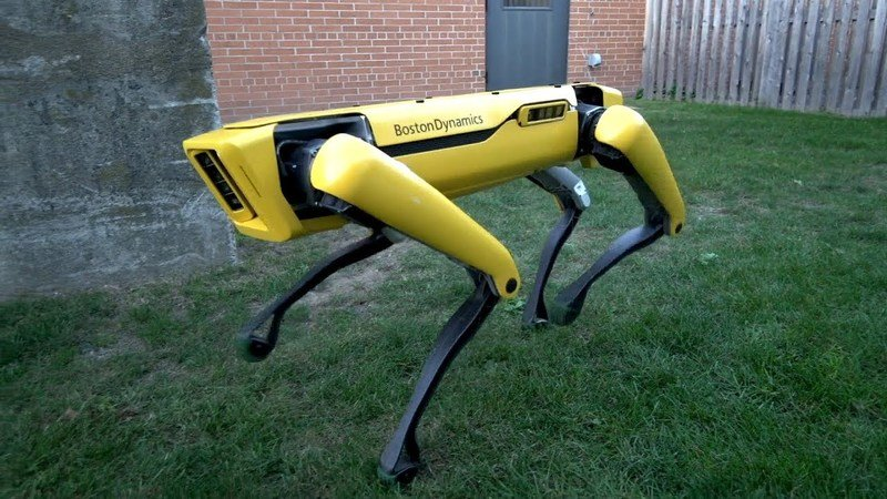 Say Hello To Our New And Improved Robotic Canine Future: Video