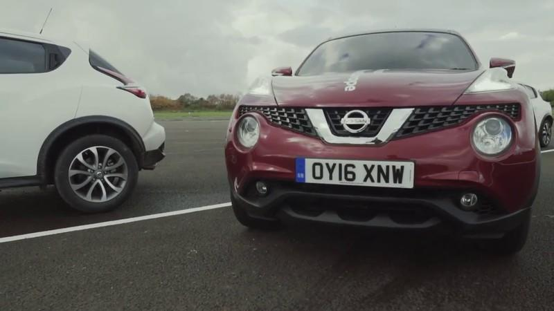 Nissan Juke Sets World-First