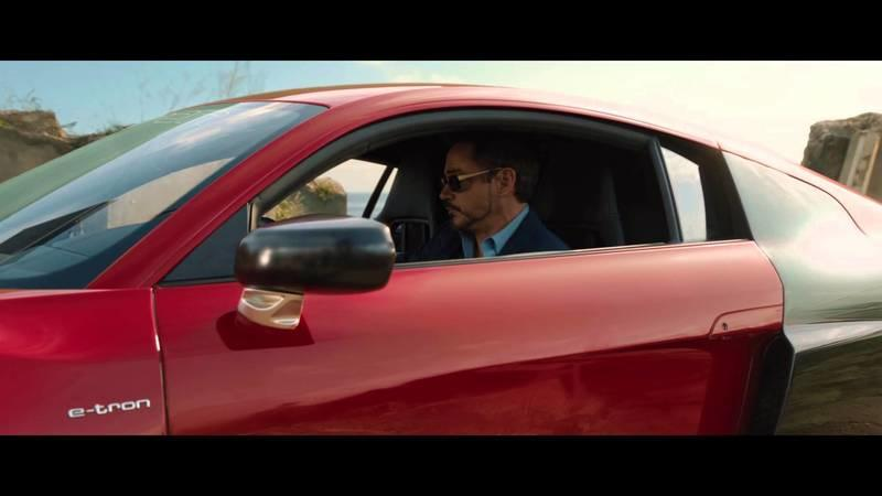 Video: Audi R8 E-tron Featured in New Iron Man 3 Commercial