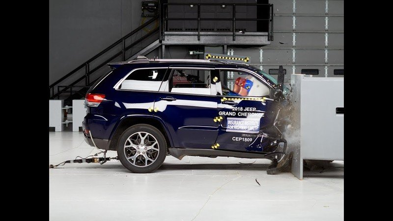 The Ford Explorer and Jeep Grand Cherokee Fail Miserably in Recent IIHS Crash Testing