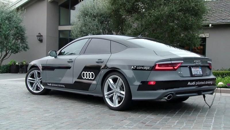 Audi A7 Piloted Driving Concept Takes a Trip to CES: Video