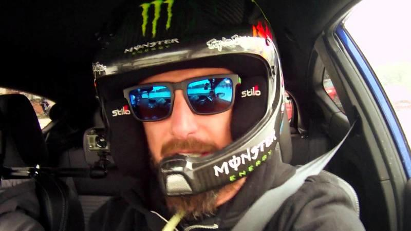 Video: Ken Block Hoons Ford Fiesta ST With Wide-Eyed Fans