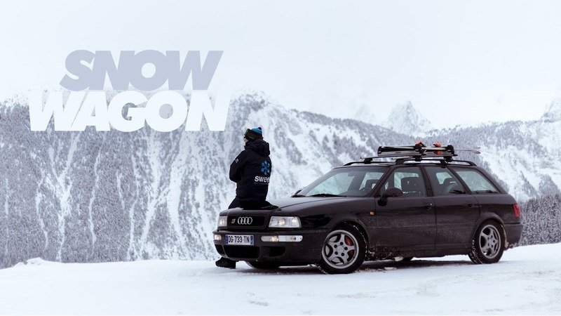 Petrolicious Features A '90s Audi Wagon That's Ready To Hit The Slopes
