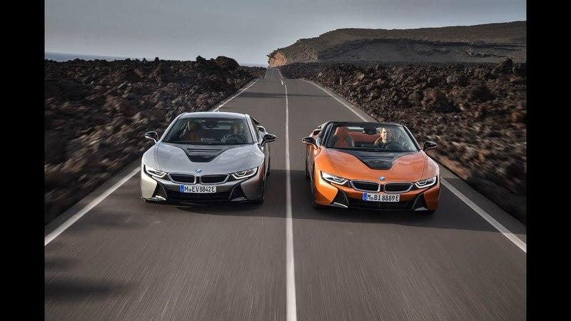 "BMW Debuts ""New"" i8 Coupe and the First i8 Roadster"