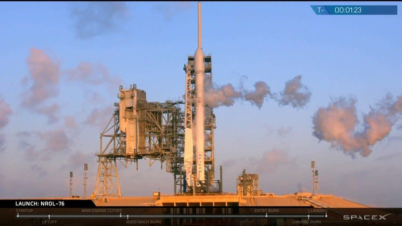 Watch SpaceX Launch A U.S. Spy Satellite: Video