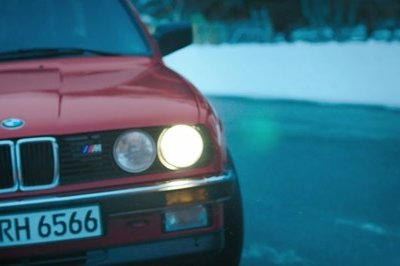 Throwback: BMW's Holiday Video Features Rarely Seen M3 E30 Pickup