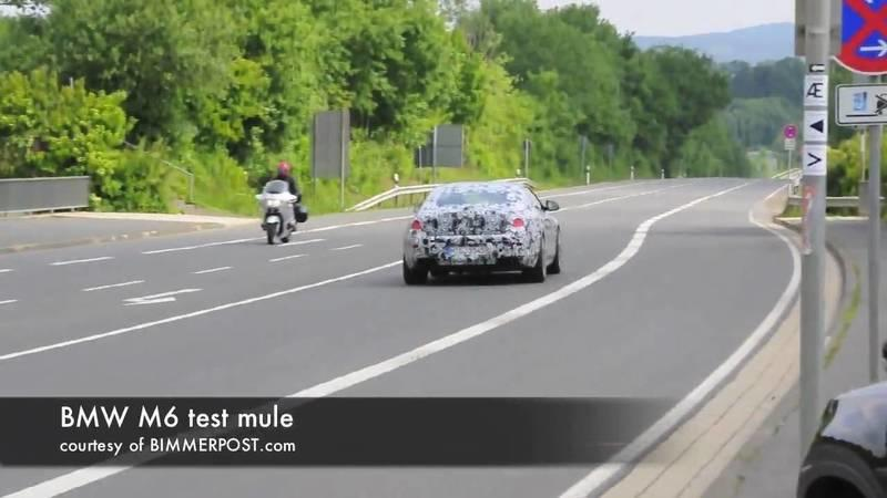 Video: Camouflaged BMWs spotted on the road