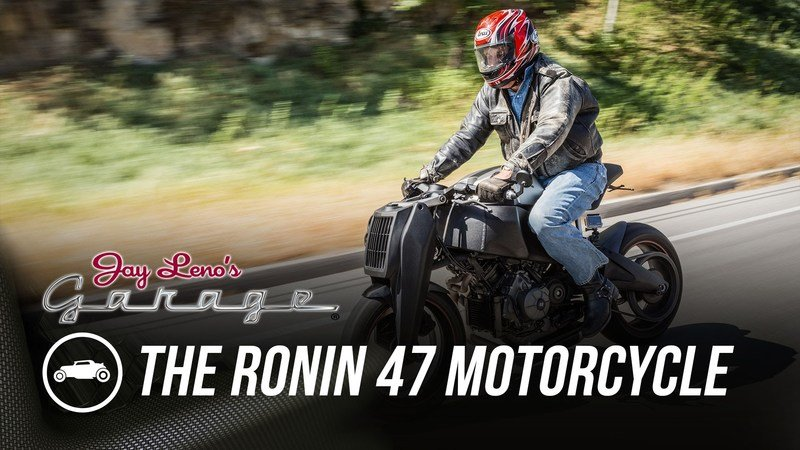 Video: Ronin 47 Makes Appearance At Jay Leno's Garage