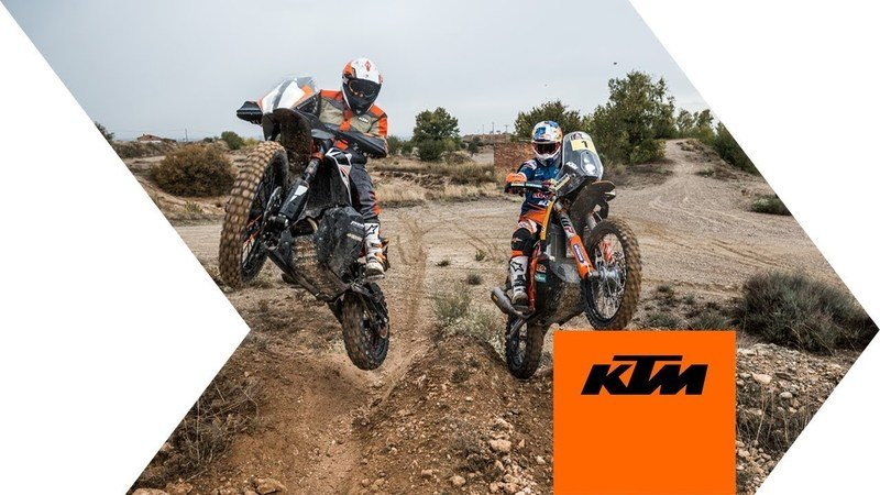 KTM's 790 Adventure R is unfortunately just a prototype