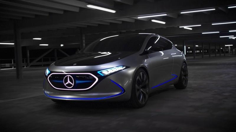 Mercedes-Benz Concept EQA Is an Electric A-Class from the Future