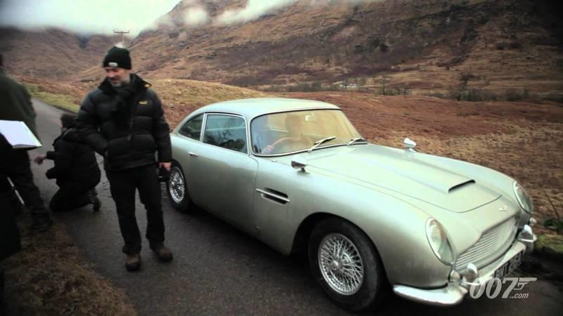 Video: James Bond's Aston Martin DB5 returns in Skyfall