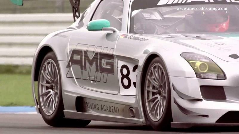 Video: Michael Schumacher Drives the SLS AMG GT3