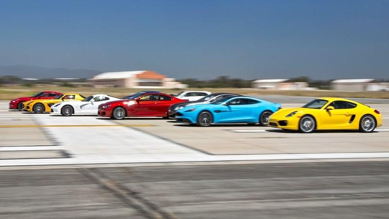 Video: Motor Trend Hosts World's Greatest Drag Race 3