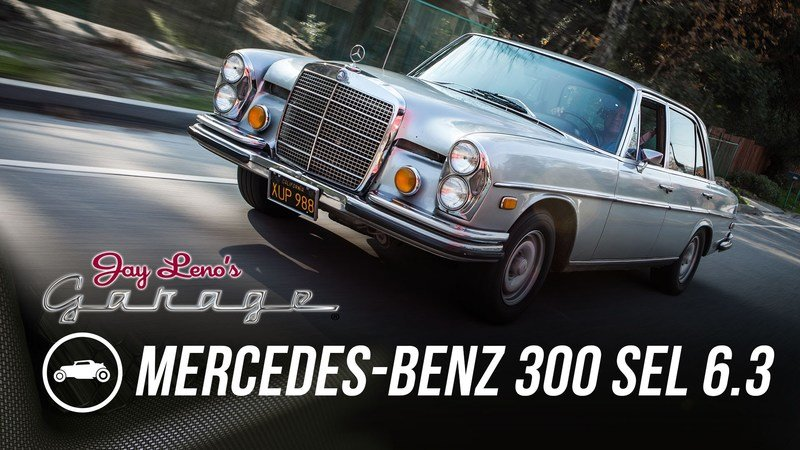 Jay Leno Reviews 1972 Mercedes-Benz 300 SEL 6.3: Video