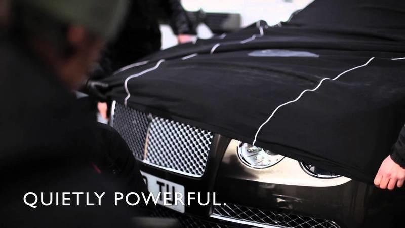 Video: Bentley Flying Spur Reveals its Eyes
