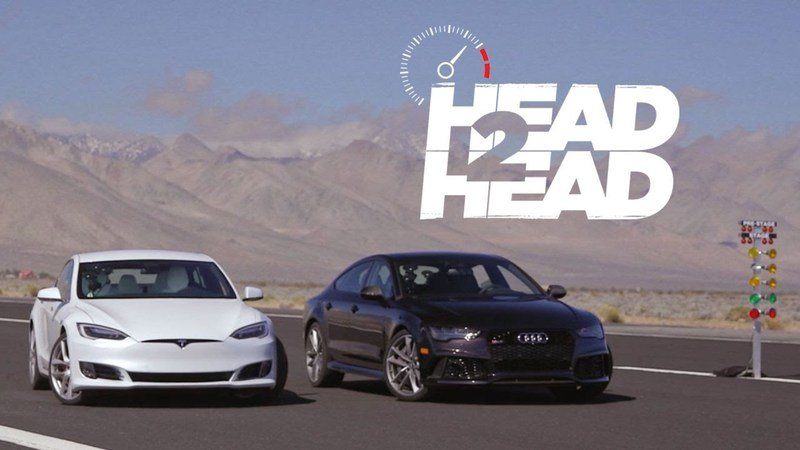 Motor Trend Pits Tesla Model S P100D Against Audi RS7 Performance: Video