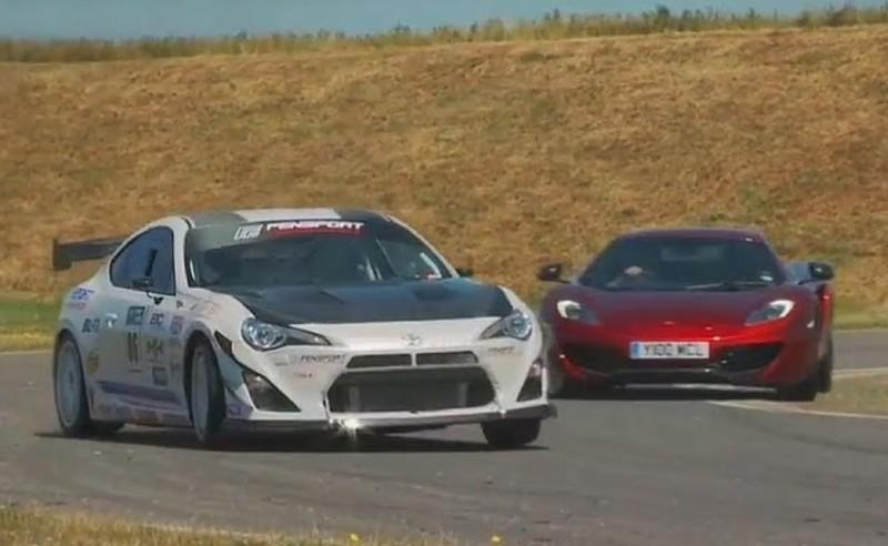 Video: Race-Spec GT-86 Turbo Takes on the McLaren 12C