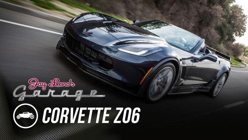Jay Leno Reviews the 2015 Corvette Z06: Video