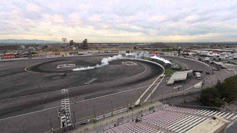 Video: It's not Gymkhana, but it's Ken Block doing yet another drift session