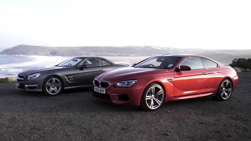 Video: Chris Harris Puts the BMW M6 Against the Mercedes SL63 AMG