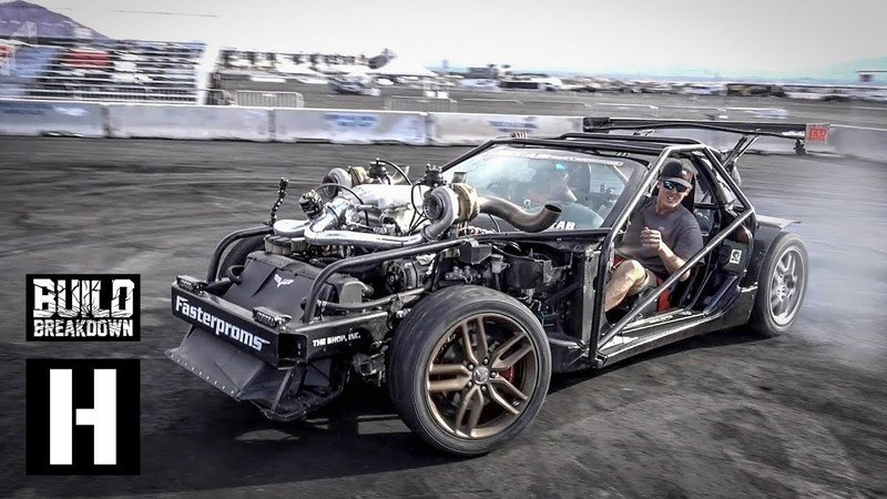 The Hoonigans Go Deep With Cleetus McFarland's Insane 'Vette Kart: Video