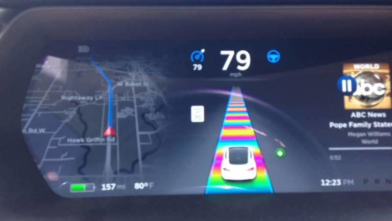 Tesla's Autopilot System Includes Another Easter Egg From Elon Musk