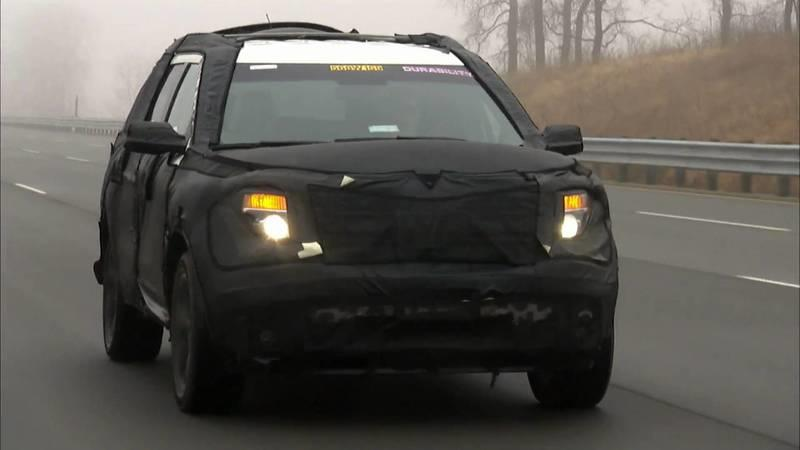 Video: Ford releases teaser video of 2011 Explorer doing some testing