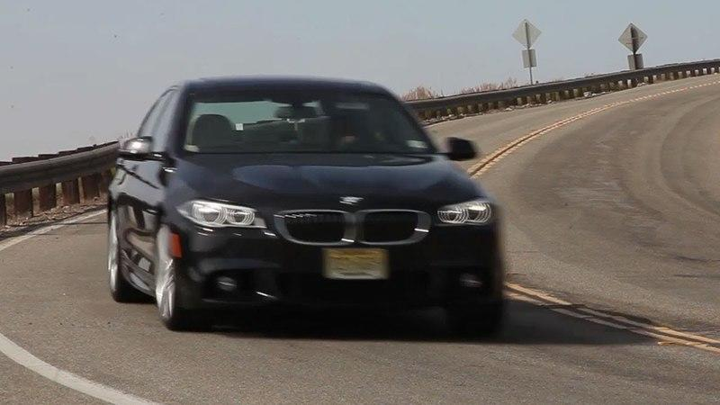 Video: Chris Harris Takes a Ride in the 2014 BMW 535d