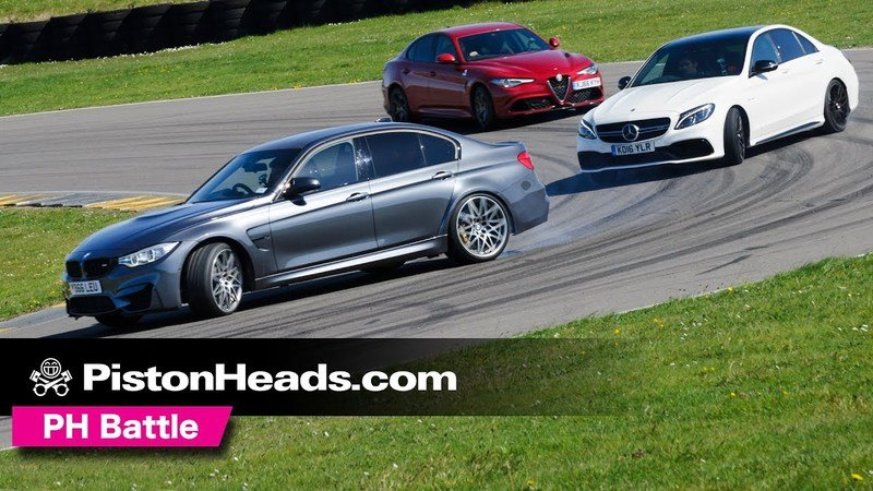 Alfa Romeo Giulia Quadrifoglio Fails To Complete Track Test: Video